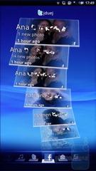 Интерфейс Sony Ericsson Xperia X10