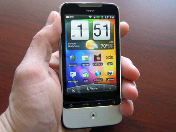 Обзор HTC Legend