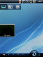 Домашний экран Acer beTouch E110