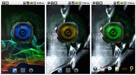 Анимированные обои из Motorola Droid X