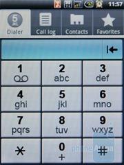 Phone dialer Acer beTouch E110