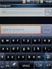 Клавиатура TouchPal в Acer beTouch E110