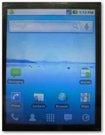Домашний экран Android