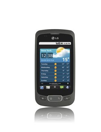 LG Optimus One Android 2.2 Powered thumb Обзор LG Optimus One