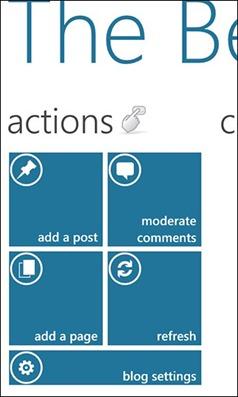 WordPress для Windows Phone 7