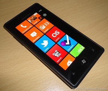 Windows Phone 7 Samsung Omnia 7