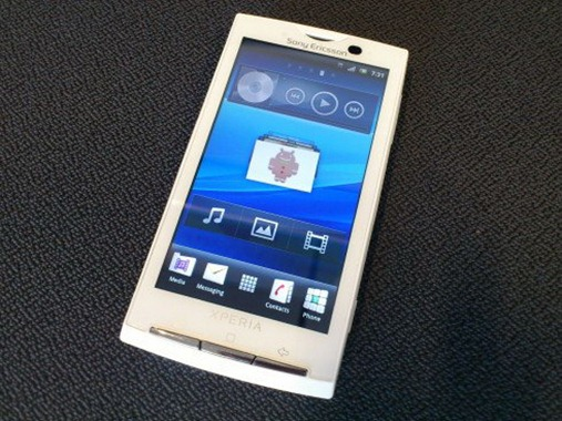 Xperia X10 Gingerbread
