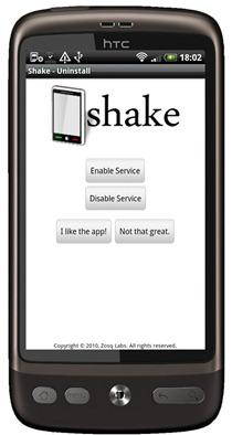 Shake UnInstall