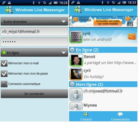 WLM for Android
