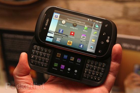 Mystery dual screen LG handset
