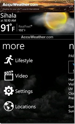 AccuWeather-Settings