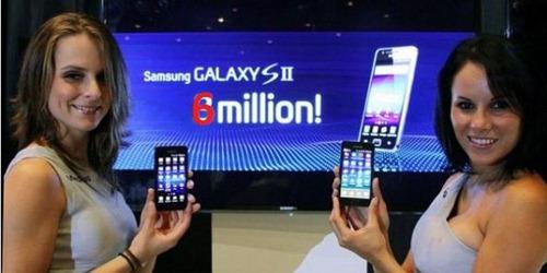 Galaxy S II 6 Millions