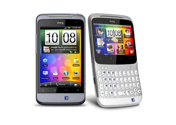 HTC ChaCha and HTC Salsa
