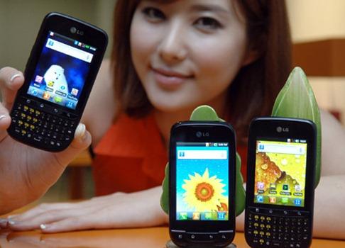 LG Optimus Net and Optimus Pro