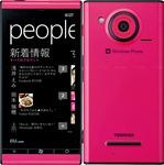 Toshiba-Fujitsu IS12T Pink