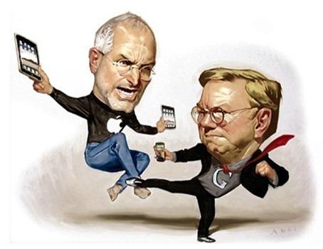 Eric Schmidt Steve Jobs Kung Fu
