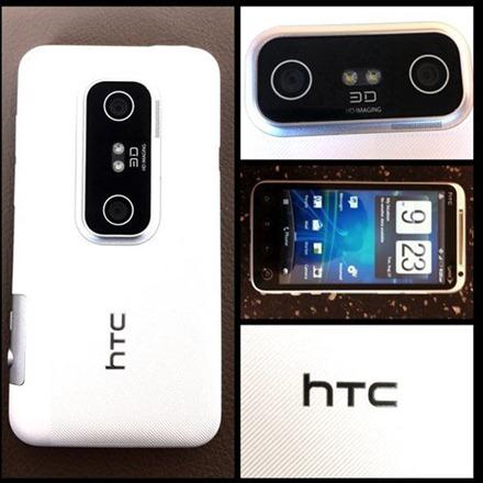 HTC Evo 3D White