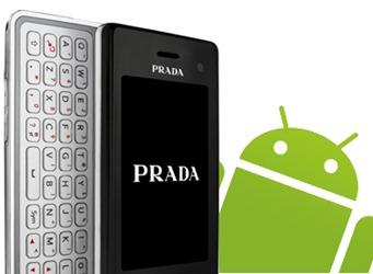 LG Prada Android