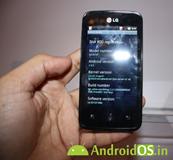 LG optimus univa E510F