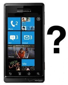 Motorola Windows Phone