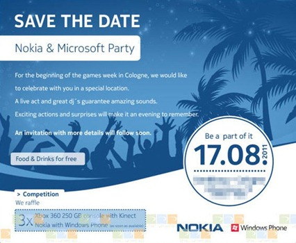 Nokia and Microsoft Party
