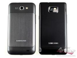 Samsung Galaxy R vs Samsung Galaxy S2 Back Side