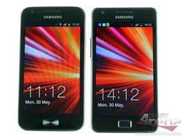 Samsung Galaxy R vs Samsung Galaxy S2