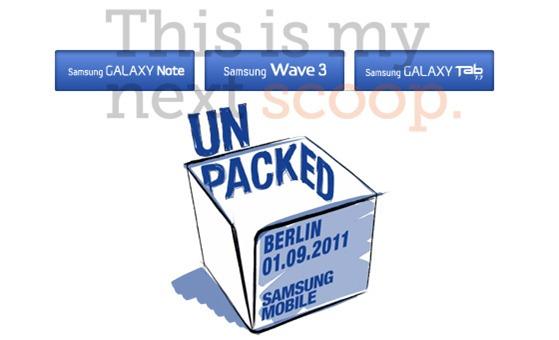Samsung's Unpacked