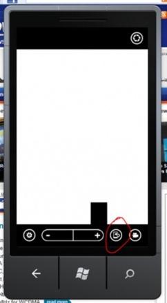 Windows Phone Mango front-facing cameras