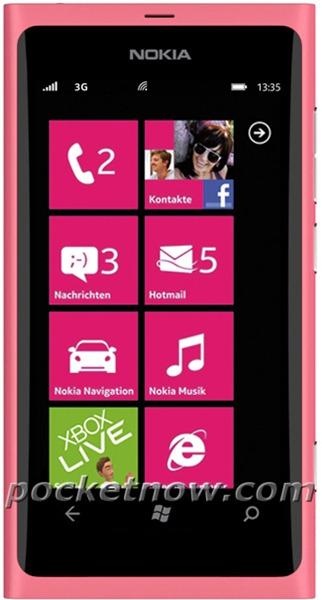 Nokia 800 Pink