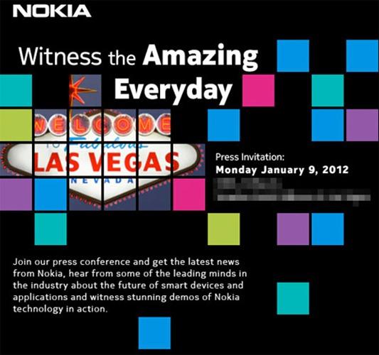 Nokia CES 2012