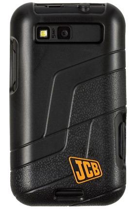 Motorola Defy  JCB Edition Back