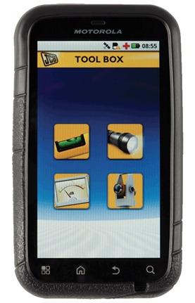 Smartphone Motorola Defy  JCB Edition
