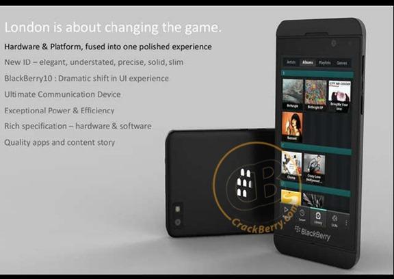 BlackBerry 10 Superphone