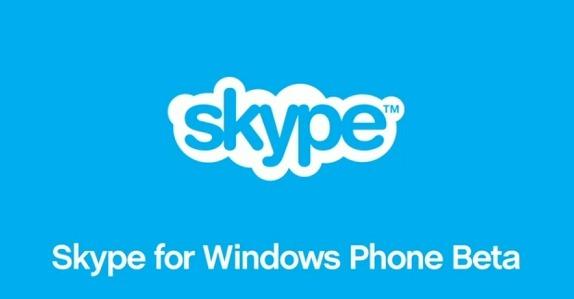 Skype for Windows Phone (Beta)