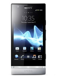 Sony Xperia P Front