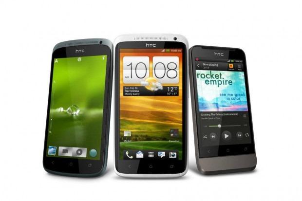 В Европе HTC One X, One S и One V появятся в продаже второго апреля