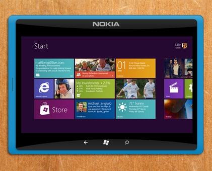 Windows 8 Nokia Tablet