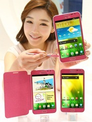 Pink Samsung Galaxy Note