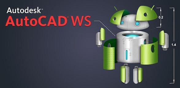 Приложение AutoCAD WS для мобильной операционной системы Android