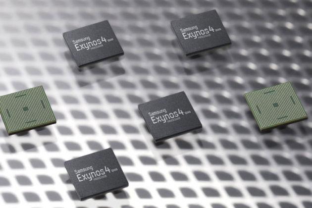 Четырехъядерный процессор Samsung Exynos 4 Quad для Galaxy S III