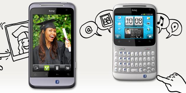 Смартфон HTC ChaCha и Salsa