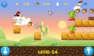 Игра Ninja Chicken для мобильной операционной системы Android