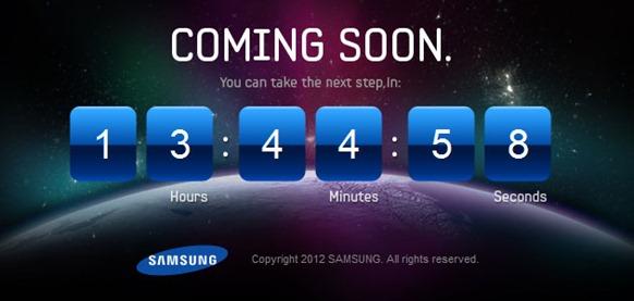 Samsung Galaxy Teaser