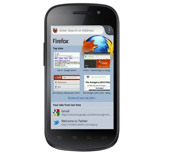 Firefox for Android Beta 14