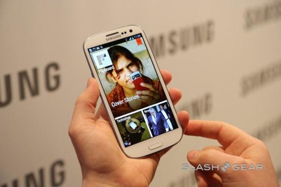Приложение Flipboard для Android. Пока эксклюзивно на Samsung Galaxy S III