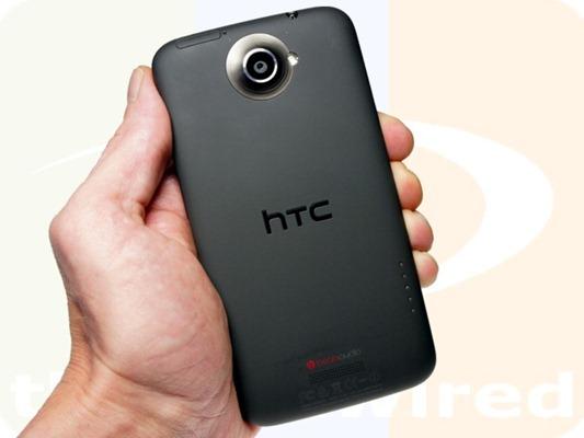 HTC One XL Back