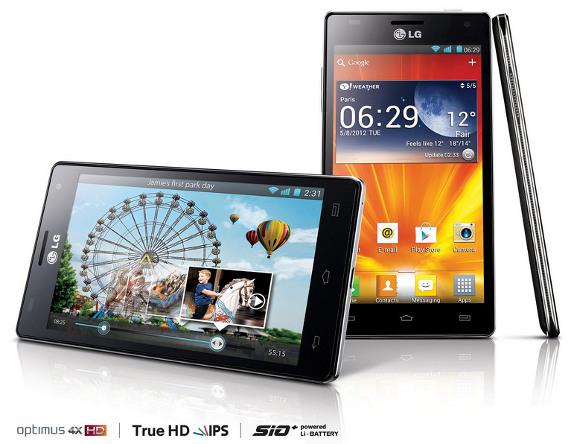 4-ядерный смартфон LG Optimus 4X HD от корейской компании LG