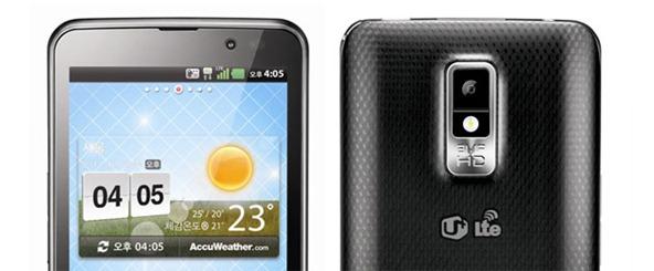 Супер-производительный и красивый смартфон LG Optimus LTE