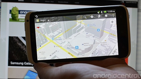 Google Maps for Android getting offline access